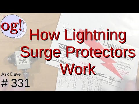 How Lightning Surge Protectors Work (#331)