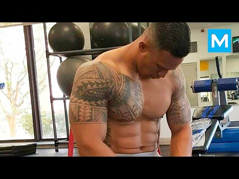 Universal Soldier in Real Life - Military Strength Training with Diamond Ott | Muscle Madness - UClFbb1ouXVZzjMB9Yha5nAQ