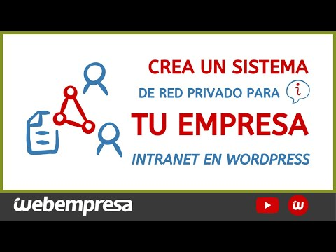⭐️ Cómo Crear una Intranet en tu Empresa en WordPress【Guía Completa PASO a PASO】+ Plugins Gratuitos