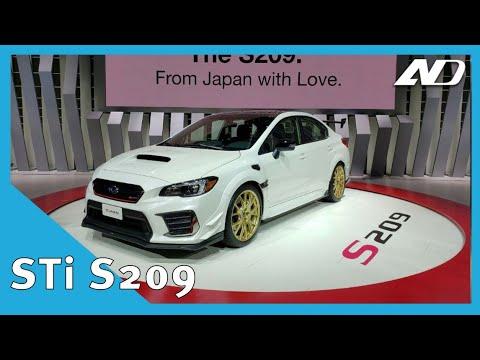 Subaru WRX STi S209 - Solo para conocedores | NAIAS2019