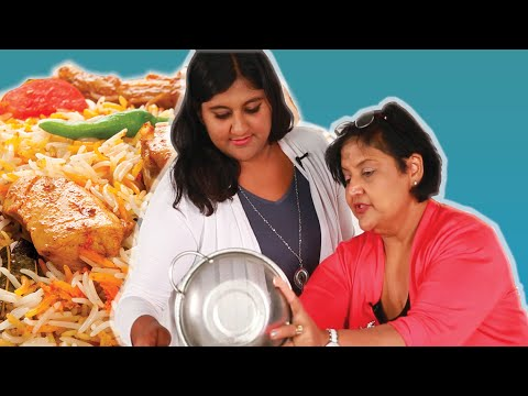 South Asians Learn To Cook Biryani With Their Moms