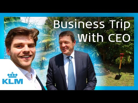KLM Intern On A Mission - A Business Trip With The CEO