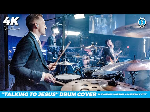 Talking to Jesus Drum Cover // Elevation Worship & Maverick City // Daniel Bernard