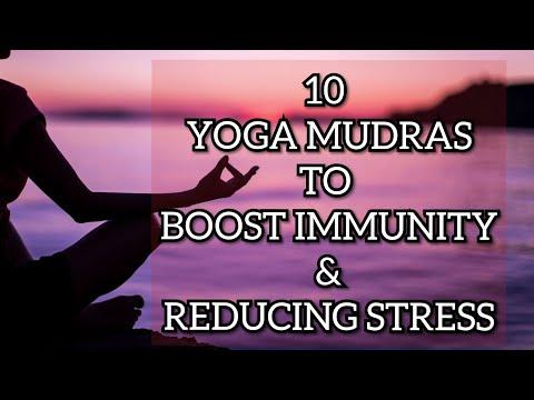 10 Yoga Mudras to boost Immunity & Reducing Stress   Yoga mudra to reduce anxiety & depression