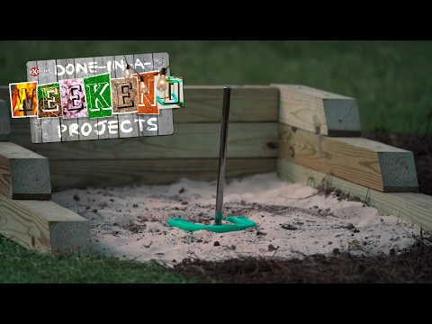 Game On: How To Build a Backyard Horseshoe Pit and Ring Toss Game
