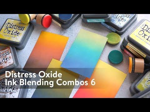 Distress Oxide Ink Blending Color Combinations 6