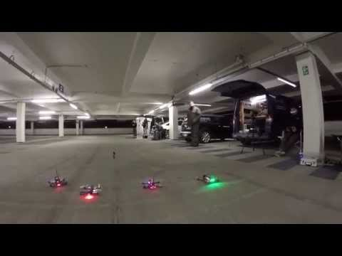 FPV RACING - 250 FPV Quadcopter racing in a carpark. BRING OUT THE DRONES!! - UCA9kQj0XD8v5TF_vqbHF1zg