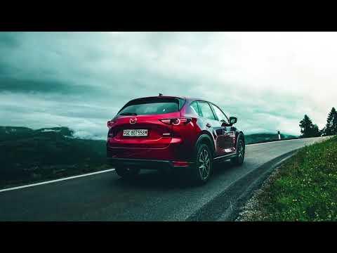 Mazda CX-5 på tur i nydelige sveitsiske alper