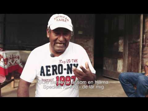 Pablo berättar om vad hans barn vill bli - SOS Barnbyar