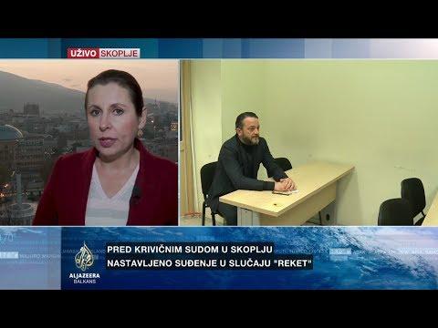 Smilevska o detaljima svjedočenja Jordana Kamčeva u slučaju 'Reket'