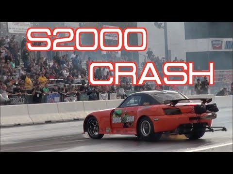 S2000 WRECKS THEN COMES BACK FIGHTING!