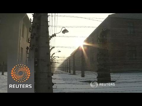 Holocaust survivors gather for Auschwitz liberation commemoration