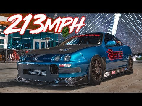 1200HP Integra Worlds Fastest FWD 1/2 Mile 213MPH! - The Gringotegra Story