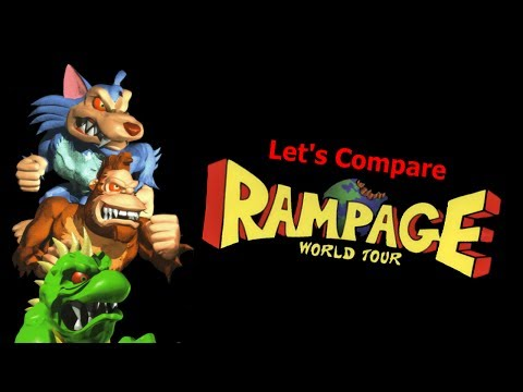 Let's Compare ( Rampage World Tour )