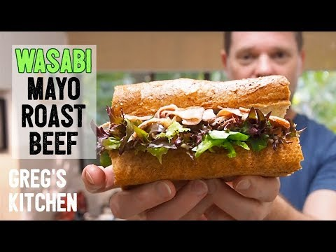 Why Does This WASABI BEEF MAYO SANDWICH Taste So Good? - Greg's Kitchen - UCGXHiIMcPZ9IQNwmJOv12dQ