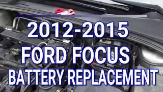 Come sostituire batteria Ford Focus-2012-2015