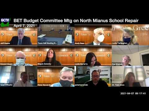 BET Budget Committee, April 7, 2021
