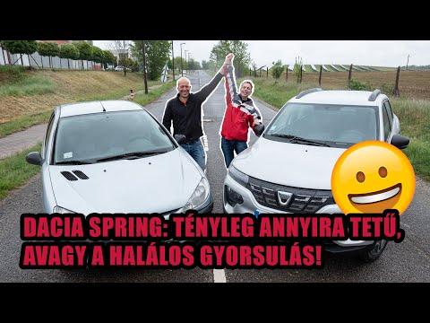 A Dacia Spring legyorsul egy gyenge benzinest?