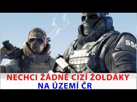 Tomio Okamura: Nechci žádné cizí žoldáky na území ČR