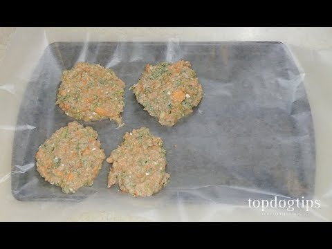 Recipe: Chicken Beef Patties Food for Dogs with Cancer