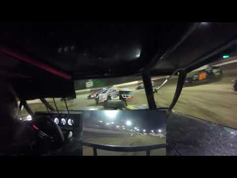 In Car Cam of Zebulon Moak  at Highland Speedway 7-24-21 (A-mod) - dirt track racing video image