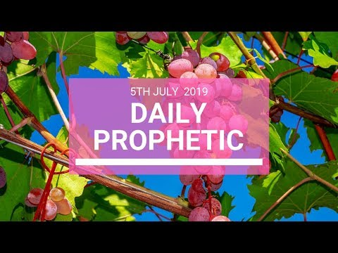 Daily Prophetic 5 July 2019 Word 5