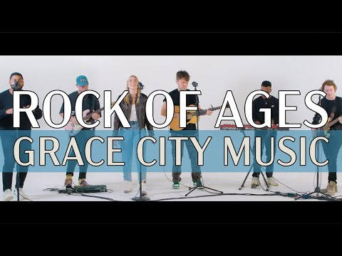 Rock of Ages (feat. Johnny Pea) - Grace City live in studio