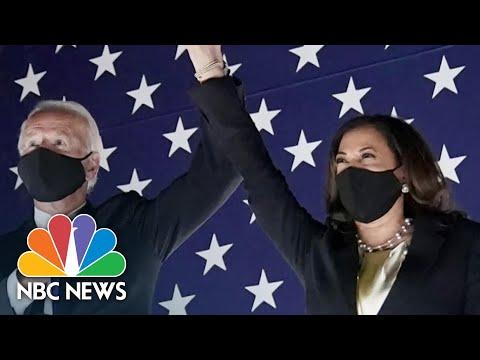 Biden: 'I Am Honored And Humbled' | NBC News
