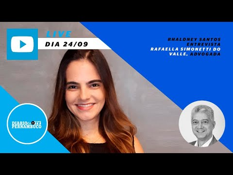 Rhaldney Santos entrevista advogada Rafaella Simonetti do Valle