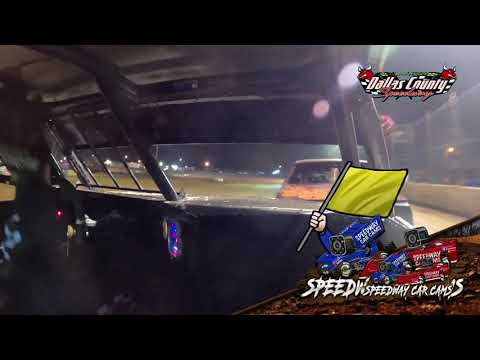 #7 Steve Lourenco - Pure Stock - 7-23-2021 Dallas County Speedway - In Car Camera - dirt track racing video image