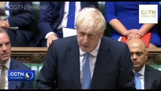 Brexit : Boris Johnson accuse les membres du Parlement de