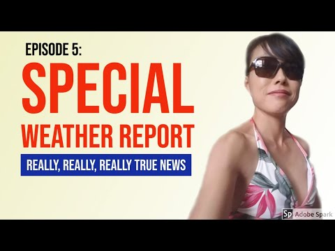 FUNNY Weather Report: Quaratine Edition