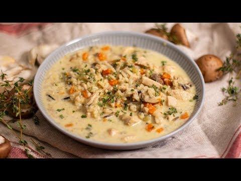Creamy Chicken & Wild Rice Soup Recipe | Ep. 1333