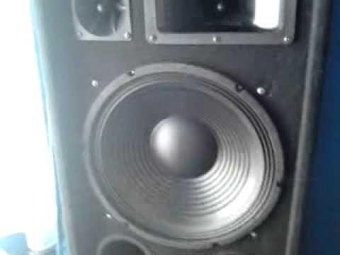 "Ibiza 15"" Active DJ PA Subwoofer Speaker 800W Bi-Amp + Omnitronix DX2222"