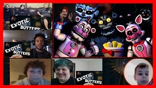 Five Nights at Freddy's: Sister Location [REACTION COMPILATION by Markiplier] Reaction Mashup