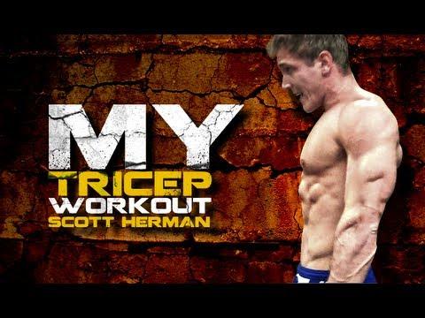 My Tricep Workout- Scott Herman