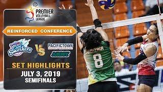 Creamline vs. PacificTown-Army   Set 2 Highlights - July 3, 2019   #PVL2019