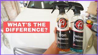Comparing Adam's Wheel Cleaner vs Iron Remover