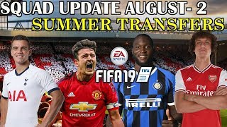 INSTALL FIFA 19 SQUAD UPDATE AUGUST 2 CPY (Full Summer Transfers- Premier League, La Liga and more)