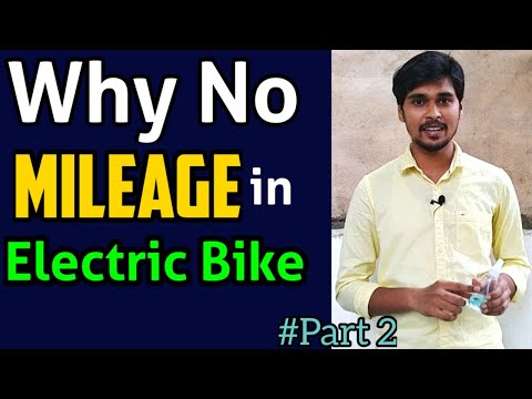 Why No Mileage for an Electric Vehicle - EV Basics | Part 2