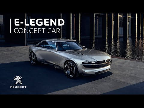 New Peugeot e-LEGEND Concept | #UnboringTheFuture