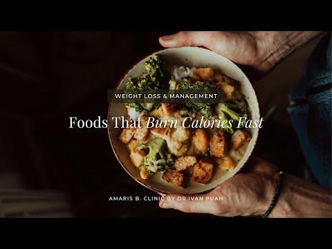 Foods That Burn Calories Fast