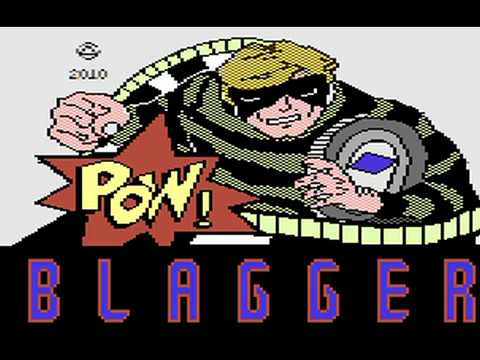 Commodore 64: Blagger goes to Hollywood game ending by Alligata Software