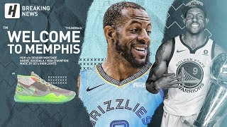 BREAKING: Andre Iguodala Traded to Memphis Grizzlies! BEST Career Highlights & Moments!