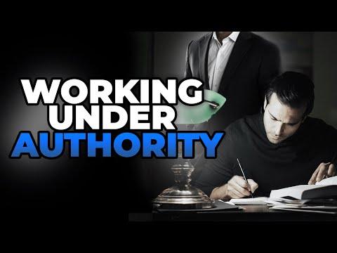 Working Under Authority