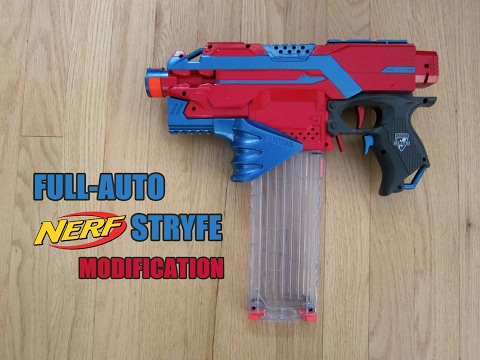 FULL AUTO NERF STRYFE MOD [Mod Exchange with Bobololo]