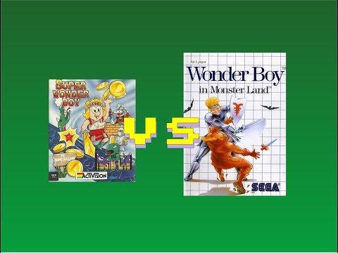 Directo: Comparando Super WonderBoy --- C64 REAL 50hz