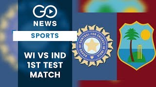 India Vs West Indies First Test (Preview)
