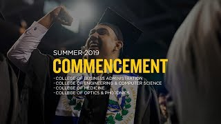 UCF Commencement: August 3, 2019 | Morning Ceremony