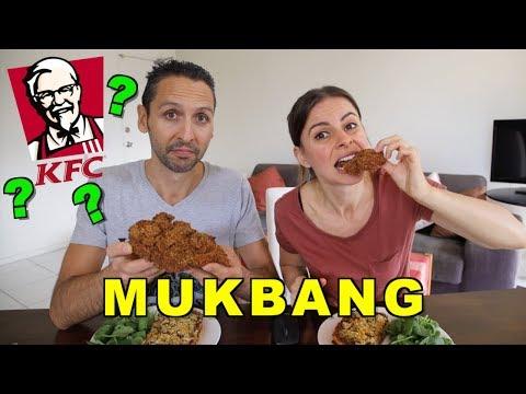 VEGANS EAT KFC??   MUKBANG + UPDATE + RESPONSE